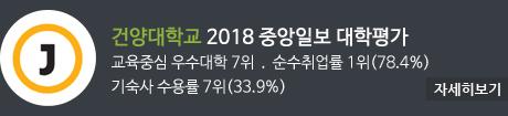 2018 중앙일보 대학평가